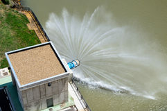 Wodny Spillway Zdjęcie Royalty Free