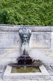 Wodny Spout przy pałac Versailles Zdjęcia Royalty Free
