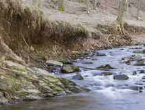 Wodny strumień Fotografia Stock