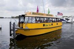 Wodny taxi - fort lauderdale, Floryda zdjęcia royalty free