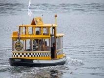 Wodny taxi w Wiktoria Fotografia Stock