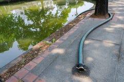 Wodny wąż elastyczny dla pompy wodnej i wody Zdjęcie Stock