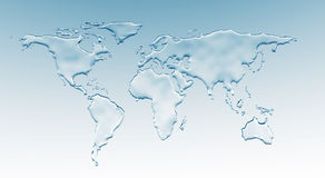 wodny świat Zdjęcia Stock