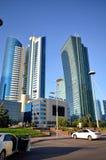 Wodny Zielony bulwar w Astana kazakhstan Zdjęcia Stock