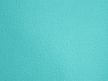 Wodnych kropel turkusowy tło - Akcyjne fotografie Zdjęcia Royalty Free