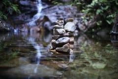 wodospad dżungli zdjęcia stock