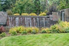 2 wodospad fontann Zdjęcie Stock