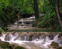 wodospad leśna Obrazy Royalty Free