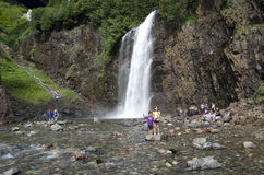 wodospad marzycielska obraz stock