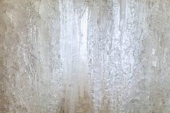 wodospad mrożone Sopel struktura Zamyka w górę widok Zdjęcia Royalty Free