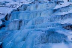 wodospad mrożone Obrazy Royalty Free
