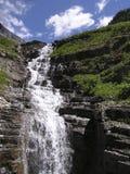wodospad odizolowanego płakać Obrazy Stock
