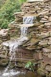 wodospad ogrodowa Zdjęcia Royalty Free