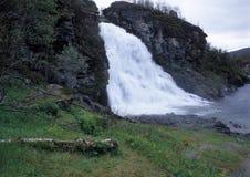 wodospad taennforsen Zdjęcia Royalty Free