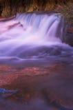 wodospad zamazana zdjęcia stock