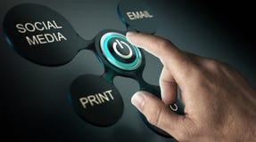 Wodowanie kampania reklamowa ilustracji