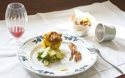 Wodowanie restauracyjny klasyczny kurs zdjęcia royalty free