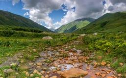 Wody mineralnej wiosna Obraz Royalty Free