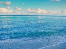 Wody morskiej powierzchnia, ocean woda Fotografia Stock