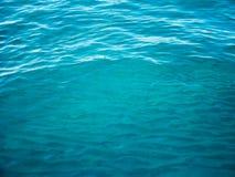 Wody morskiej powierzchnia, ocean woda Zdjęcie Royalty Free