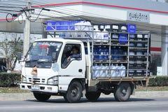 Wody pitnej doręczeniowa ciężarówka PN firma Zdjęcie Royalty Free