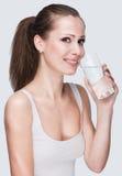 wody pitnej kobieta Zdjęcia Royalty Free