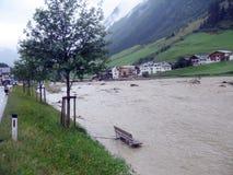 wody powodziowe ii Zdjęcia Stock