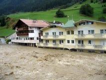 wody powodziowe vii. Zdjęcie Royalty Free