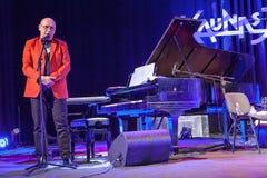 Włodzimierz Pawlik at Kaunas Jazz 2015 Royalty Free Stock Image