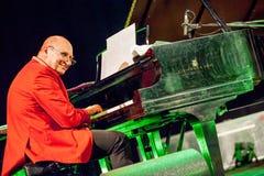 Włodzimierz Pawlik at Kaunas Jazz 2015 Stock Image