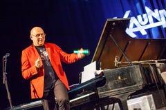 Włodzimierz Pawlik at Kaunas Jazz 2015 Royalty Free Stock Photos