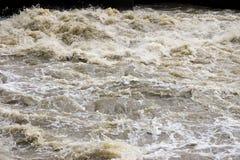 Woedend water stock foto