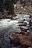 Woedende rivier Royalty-vrije Stock Afbeelding