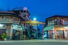 Woeng Nakorn Kasem sous le temps crépusculaire Photos stock
