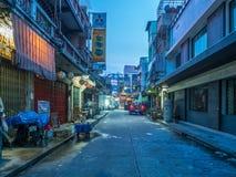 Woeng Nakorn Kasem sous le temps crépusculaire Images libres de droits