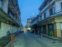 Woeng Nakorn Kasem sous le temps crépusculaire Image stock