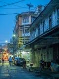 Woeng Nakorn Kasem sous le temps crépusculaire Photos libres de droits