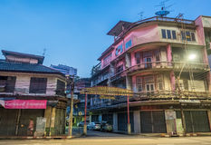 Woeng Nakorn Kasem sous le temps crépusculaire Image libre de droits