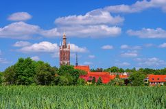 Woerlitz church Royalty Free Stock Images