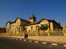 Woermann House in Swakopmund Stock Image