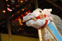 Woeste Carrousel Stock Foto