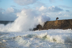 Woeste golven Royalty-vrije Stock Fotografie