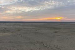 Woestijn BÅ 'Ä™dowska in zuidelijk Polen stock afbeeldingen