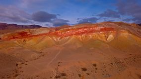 Woestijn in berg royalty-vrije stock fotografie