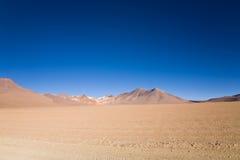 Woestijn, Bolivië royalty-vrije stock fotografie
