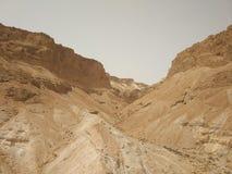 Woestijn dichtbij het dode overzees royalty-vrije stock afbeelding