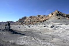 Woestijn dichtbij Meer Powell, Pagina, Utah, de V Stock Afbeelding