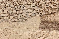 Woestijn in Egypte royalty-vrije stock foto