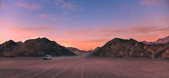 Woestijn Egypte stock foto's