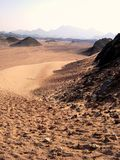 Woestijn, Egypte Royalty-vrije Stock Foto's